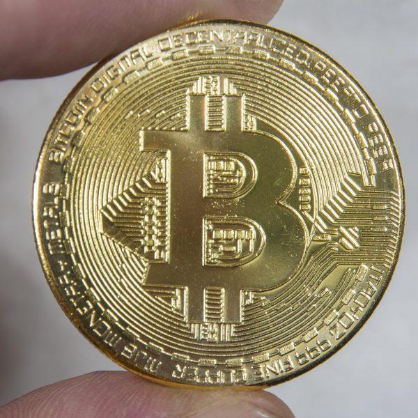 Bitcoin Mince - Dekorace - kov