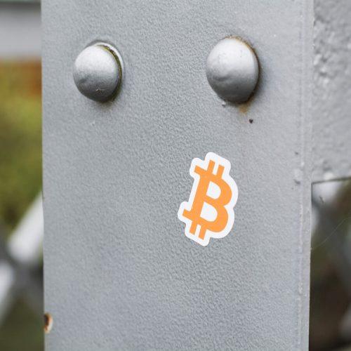Samolepky Bitcoin Zdarma