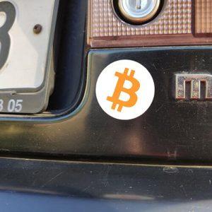 Bitcoin samolepky zdarma